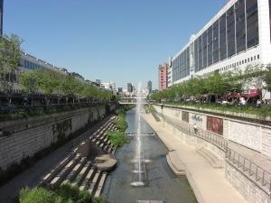 Seoul small river