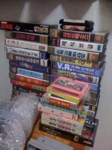 Games, mostly Korean