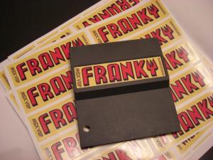 Franky sticker
